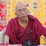 Samdhong Rinpoche at Sera