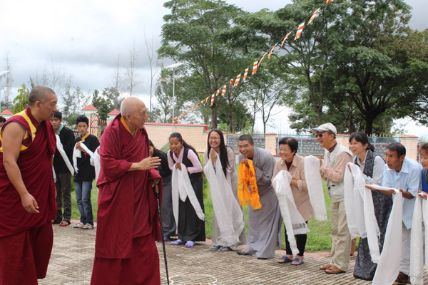 Rinpoche At Hongsor 1