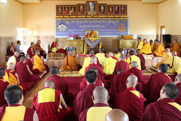 Rinpoche At Hongsor 2