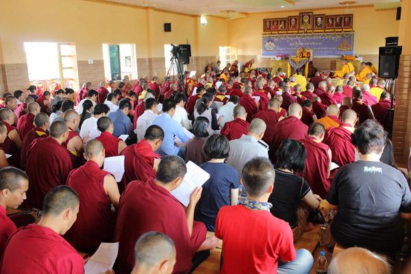 Rinpoche At Hongsor 3