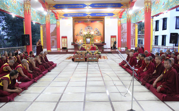 Rinpoche At Hongsor 4