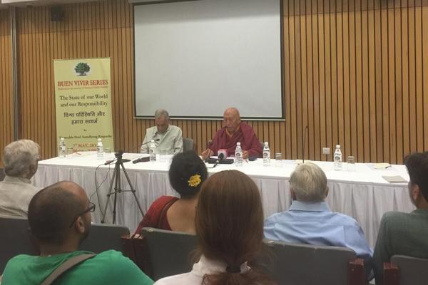 Samdhong Rinpoche in Delhi 1
