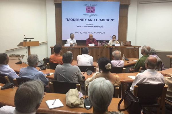 Samdhong Rinpoche in Delhi 2