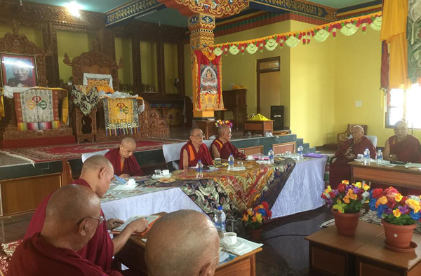 Samdhong Rinpoche South India 1