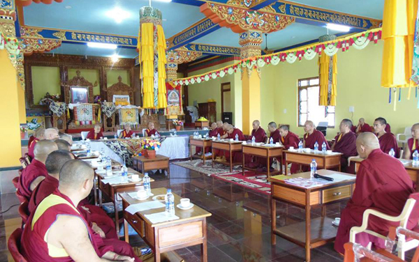 Samdhong Rinpoche South India 2
