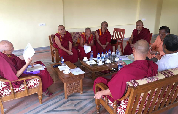 Samdhong Rinpoche South India 4