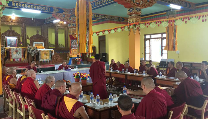 Samdhong Rinpoche South India 5